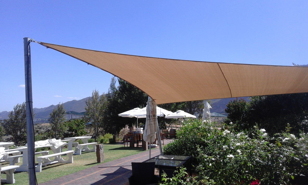 The no1 supplier and installer of shade sails in cape town for Colorado shade sail